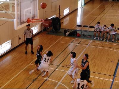 バスケット西部地区大会